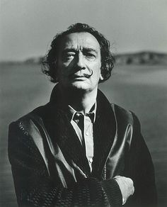 Salvador Dali by Liselotte Strelow, 1968