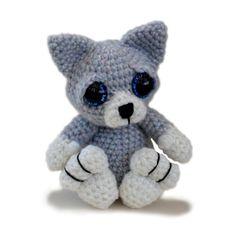 Kitten Cat Amigurumi Crochet Pattern PDF Instant von PatchworkMoose