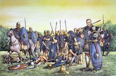 Auxiliary infantry and cavalry