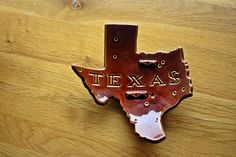 Texas Map,  Ashtray,  Ceramic,  Hull Pottery,  Curved,  Ceramic Footed, decoration, gift,
