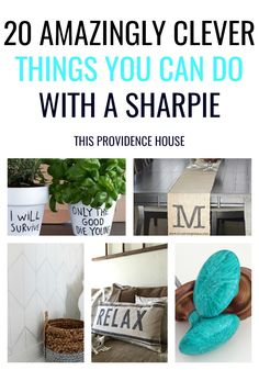 sharpie home decor Decorating Your Home, Diy Home Decor, Decorating Ideas, Providence Homes, Easy Crafts, Easy Diy, Home Board, Fabric Markers, Glass Ceramic
