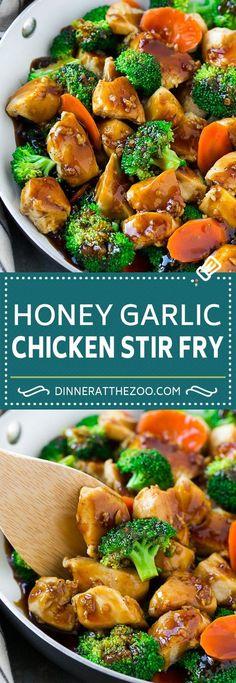 Honey Garlic Chicken Stir Fry   Chicken and Broccoli   Healthy Chicken Recipe   Stir Fry Recipe   Easy Chicken Recipe #chickenrecipe #stirfry #asianfood #healthy #dinneratthezoo