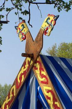 Viking tent poles