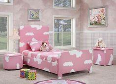 cores na decoração do quarto das meninas moveis