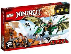 Lego Ninjago Green NRG Dragon Playset