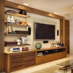 Lindo painel de tv