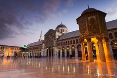 The great architectural jewel of Damascus is the stunning 8th century Umayyad Mosque with its exquisite interiors and glittering gold and coloured mosaic. The mosque is considered to be one of the most sacred places in the Islamic world and is a highlight of any visit to Syria.