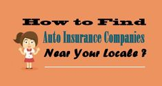 How to Find Companies Near Your Locale? Companies In Usa, Insurance Companies, Car Insurance, Business, Fictional Characters, Store, Fantasy Characters, Business Illustration