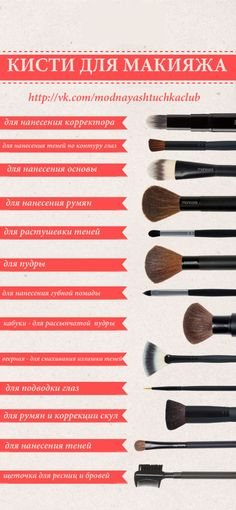 There are a lot of people who nowadays are applying cosmetics using their fingers, in my opinion it looks a lot better if applied using a make-up brush. This article describes the reasons for this and looks at the types of make-up bru Beauty Make-up, Beauty Hacks, Hair Beauty, Beauty Tips, Makeup Tools, Makeup Brushes, Makeup Tutorials, Makeup Products, Makeup Tutorial For Beginners