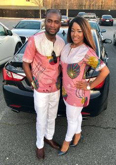 Temmie House Of Fashion: Lovely African Print Style For The Lovely Couples ~ African Fashion Couples African Outfits, Couple Outfits, African Attire, African Wear, African Women, African Style, African Inspired Fashion, African Print Fashion, African Fashion Dresses