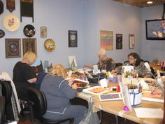 Attendee pictures from the March 2012 Sandy Scales Pampered Palette Seminar.  Pampered Palette Kicks Off Its 2012 Seminar Season.