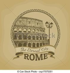 roma, (, el, eterno, City), cartel - csp17075351