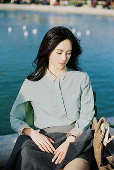 Cô gái Hàn Quốc với vẻ đẹp thanh khiết xứng danh thần tiên tỷ tỷ! - Ảnh 4.