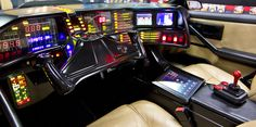 KITT - Knight Rider dashboard