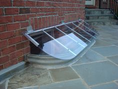 Slanted Window Well Cover To Repel Rain, Snow And Debris... Made To