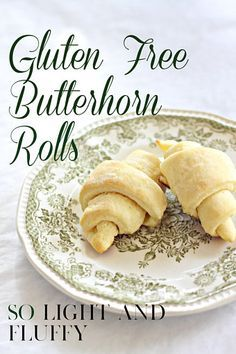 These light and fluffy gluten free rolls are perfect for holidays and entertaining. While they are gluten-free, they are so delicious you won't feel like you're sacrificing by serving these. While they do take some time, they are worth the effort. Gluten Free Rolls, Gluten Free Baking, Gf Recipes, Dairy Free Recipes, Fudge Recipes, Sin Gluten, Free Food, Treats, Cooking