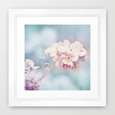 FORGET-ME-NOT Framed Art Print by  VIAINA