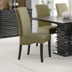 Stanton Contemporary Dining Casual Dining Side Chair Green Coaster 102063 - Main Image