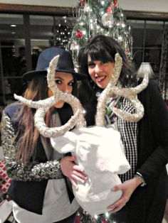 Dimples and Tangles: MEET MY NEW FRIEND {FAUX DEER HEAD}