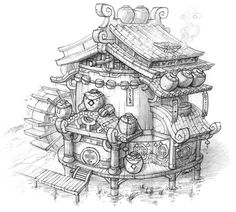 steampunk environment concept art - Google Search