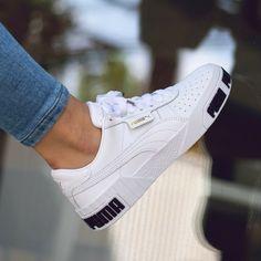Puma Cali Bold Source by sneakerando shoes Sneakers Mode, Latest Sneakers, Puma Sneakers, Sneakers Fashion, Fashion Shoes, Sneaker Outfits, Converse Sneaker, Grey Boots Outfit, Puma Outfit