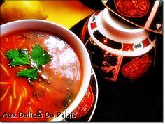 Chorba / La soupe algérienne pour ramadan