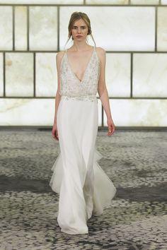 Wedding Dress Trends from Fall 2015 Bridal Fashion Week on Borrowed & Blue.  Photo Credit: Rivini via Woman Getting Married