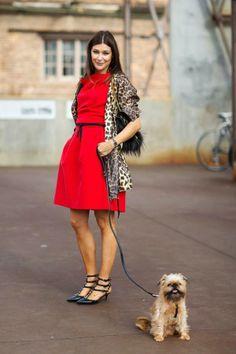 Moda de Rua: Vestidos de Inverno - Streetstyle: Winter Dresses