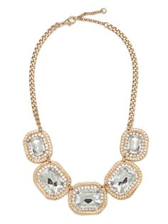 ice stella collar / baublebar... perfect for glamming up outfits for the holidays