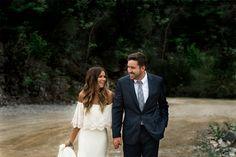 Wedding | Newlyweds | Daughters of Simone Dress | Jessie Holloway Photography