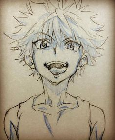 Kiwi. In advance to anyone who may read this, I know his name is Killua but when I first started watching Hunter X Hunter I couldn't say t the first time so the first thing that can rot mind was Kiwi. Thus, Killua became Kiwi.