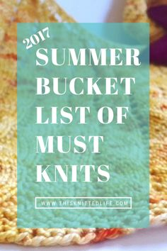 Summer Bucket List of Must Knits Another carefully curated list of essential summer knitting projectssweater tees and shawls! Knit on! And laugh a little too. The post Summer Bucket List of Must Knits appeared first on Knit Diy. Knitting Blogs, Knitting Stitches, Knitting Designs, Knitting Socks, Knitting Patterns, Scarf Patterns, Knitting Tutorials, Knitting Ideas, Hand Knit Scarf