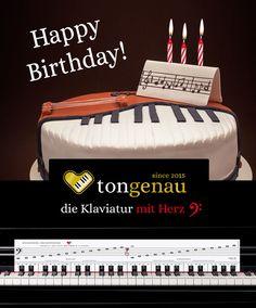 Höhepunkte der Klaviatur mit Herz - Klavier spielen selbst lernen - Noten lernen leicht gemacht! Piano Games, Sheet Music, Heart, Bakken
