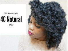 The Truth About Caring For 4C Natural Hair And Achieving Your Hair Goals - https://blackhairinformation.com/growth/hair-growth/truth-caring-4c-natural-hair-achieving-hair-goals/