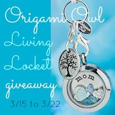 Origami Owl Giveaway!