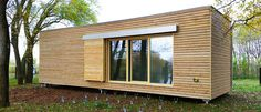 Hohe Planungssicherheit Tiny House, Small Houses, Modern House Design, Shed, Outdoor Structures, Home, Wellness, Diy, Inspiration