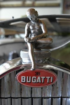 I'm just a hood ornament, scratching my foot, oh yeah this is a Bugatti