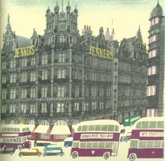 """""""This is Edinburgh"""" - M. Sasek This is Edinburgh, Miroslav Sasek, Jenners store"""