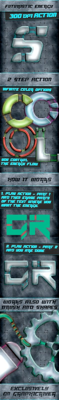 Energy Text and Shape Action - 300 DPI - Text Effects #Actions Download here: https://graphicriver.net/item/energy-text-and-shape-action-300-dpi/20064605?ref=alena994
