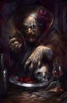 Discover the Best Horror Movies Dark Fantasy Art, Dark Art, Character Inspiration, Character Art, Grandmother's Day, Best Horror Movies, World Of Darkness, Best Horrors, Creepy Art