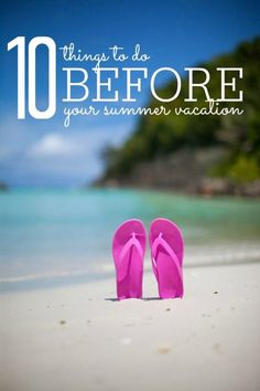 10 Things to Do BEFORE Your Summer Vacation to Save Money! Family Travel Trip and Idea to save the most money!