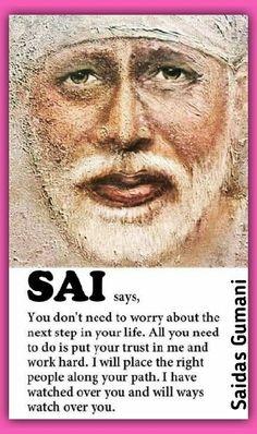 Sai Baba Pictures, God Pictures, Devotional Quotes, Faith Quotes, Indian Spirituality, Sai Baba Miracles, Shirdi Sai Baba Wallpapers, Sanskrit Quotes, Sai Baba Quotes