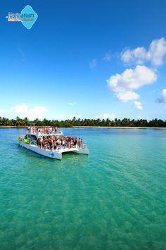 """Marinarium - Marina Park & Aquarium"" offers a half day catamaran cruise and snorkeling experience unlike any other in Punta Cana, Dominican Republic. $99"
