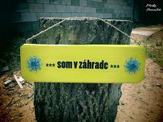 HomeArt / Som v záhrade žltá