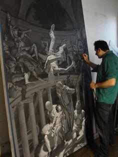"""Nicola Verlato """"Hostia"""" @ Museo d'Arte Contempoanea, Lissone, Italy:"""