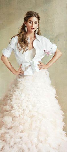 Olivia Palermo for Brides magazine