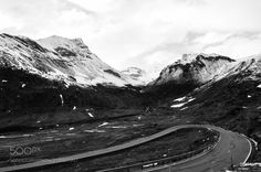 Road to Julier Pass - Switzerland Val Sursette road 3 May 2013 Tobia Scandolara