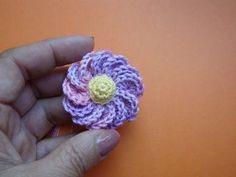 ▶ Вязаный крючком цветок Урок 43 Сrochet flower pattern for free - YouTube