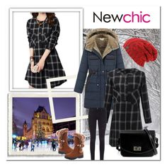 """NEWCHIC-9"" by gold-phoenix ❤ liked on Polyvore featuring mode, AG Adriano Goldschmied, vintage, women's clothing, women, female, woman, misses et juniors"