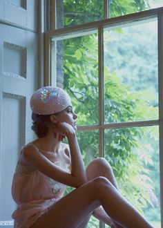 Pink straw beret with iridescent woven detail #hat #luxury #handmade  http://www.lizziemcquade.co.uk/#!stockists/c1iah photography: Jessie Lily Adams styling: Kristina Golightly MUA: Anna Payne